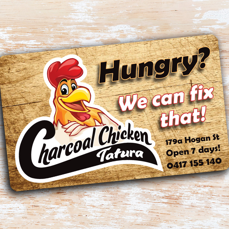 Charcoal Chicken magnet - Project Charcoal Chicken