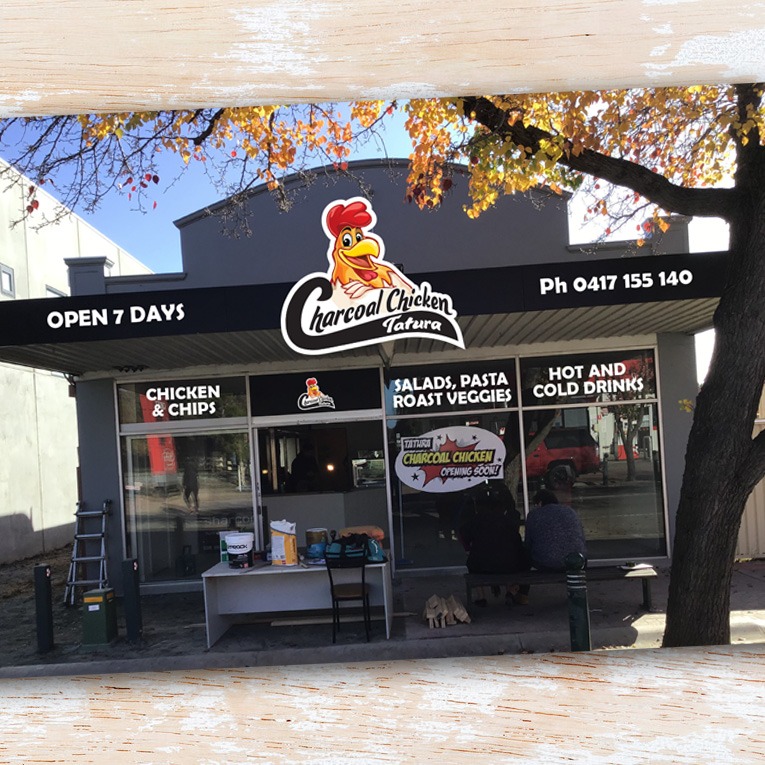 Charcoal Chicken shop front - Project Charcoal Chicken