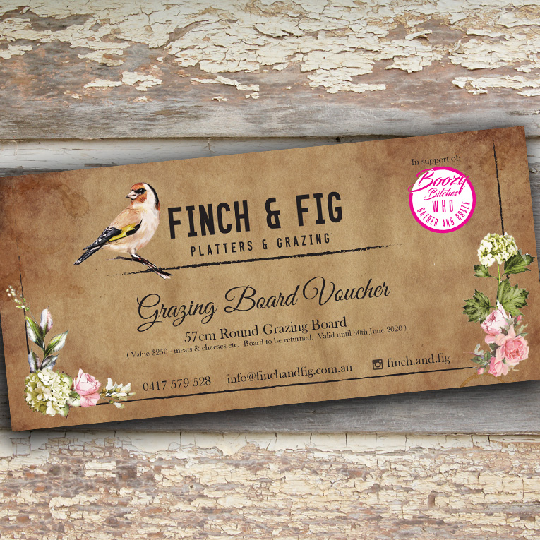 Finch Fig voucher - Project Finch Fig