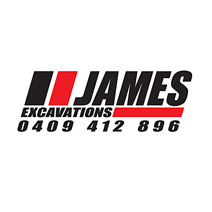 James Excavations logo 1 - OUR WORK