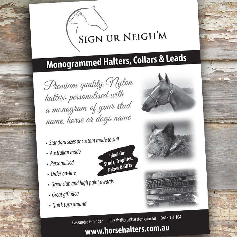 Sign your neighm flyer - Project Sign Your Neighm