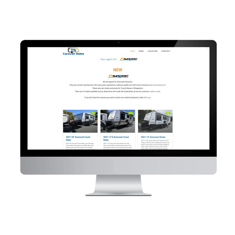 TN website - Project TN Caravans