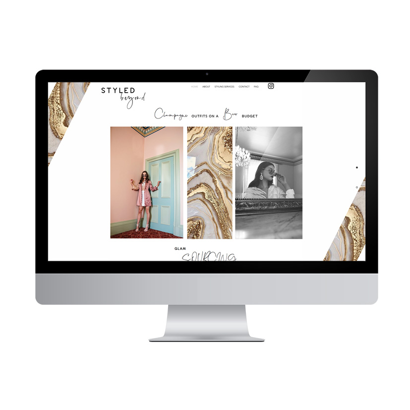 styled beyond website - Project Allannah Bevilacqua