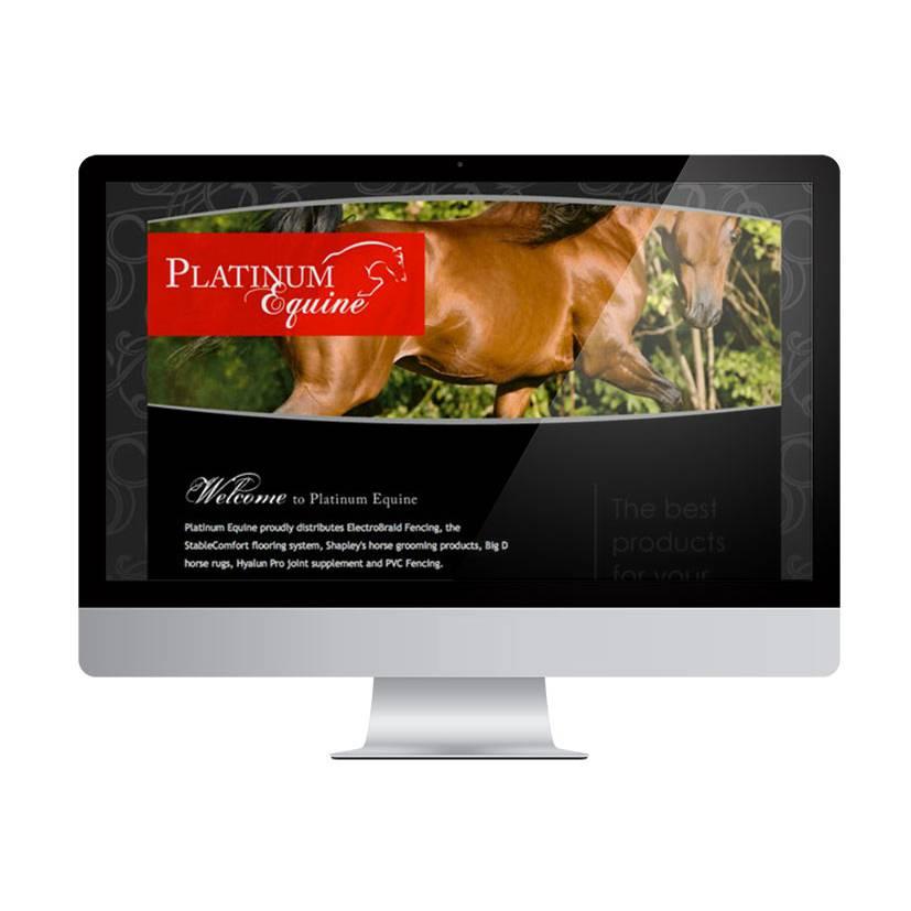 Platinum Equine website - Project Platinum Equine